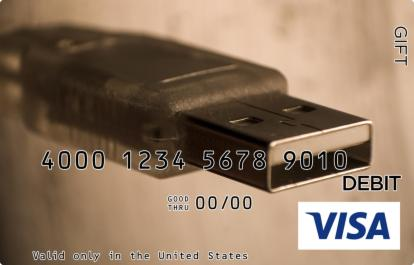 USB Visa Gift Card