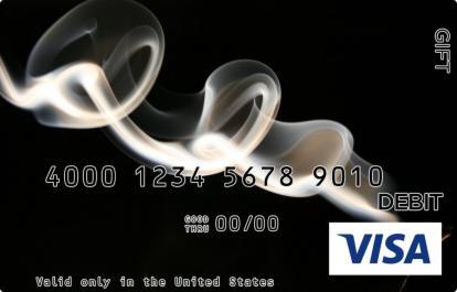 White Wisp Visa Gift Card