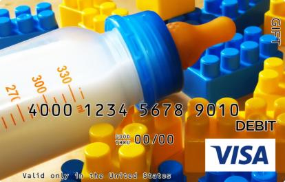 Milk Bottle Visa Gift Card