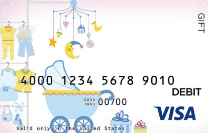 Baby Boy Carriage Visa Gift Card