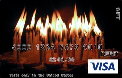 Bright Candles Visa Gift Card