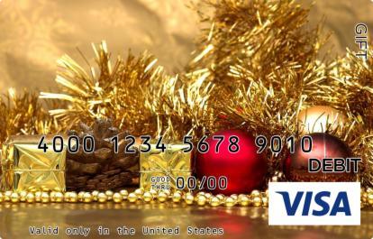 Tinsel Visa Gift Card