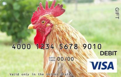 Rooster Visa Gift Card