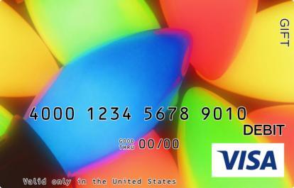 Christmas Lights Visa Gift Card