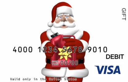 Gas Santa Visa Gift Card