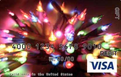 Bright Lights Visa Gift Card