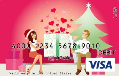 Christmas Love Visa Gift Card