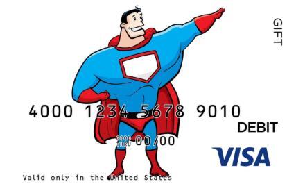 Super Dad Visa Gift Card