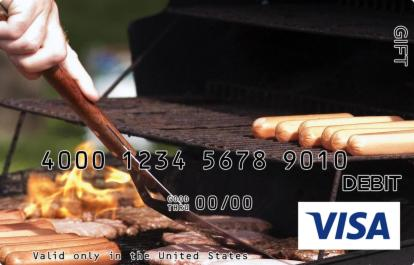 Barbecue Visa Gift Card