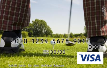 Golf Visa Gift Card