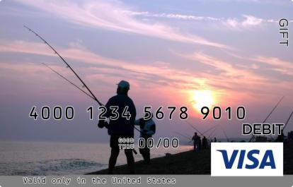 Fishing Family Visa Gift Card