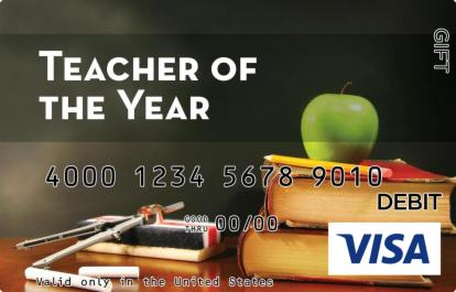 Teacher of the Year Visa Gift Card