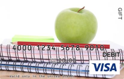 Green Apple Visa Gift Card