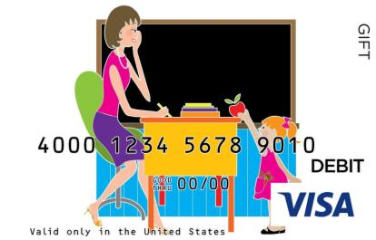 Teacher Appreciation Visa Gift Card