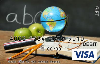 School Supplies Visa Gift Card