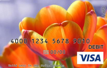 Orange Blossom Visa Gift Card