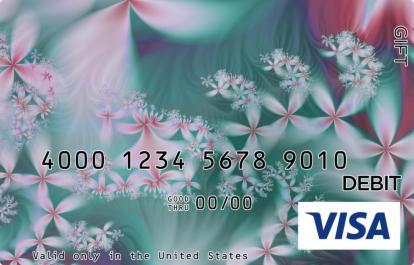 Artsy Flowers Visa Gift Card