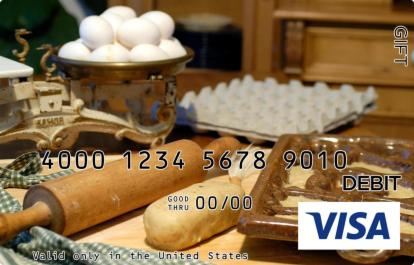 Baking Visa Gift Card