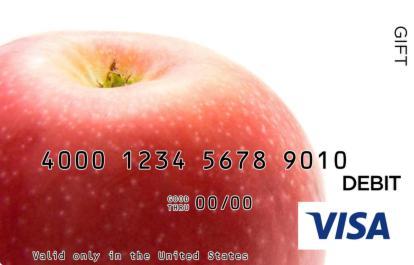 Apple Visa Gift Card