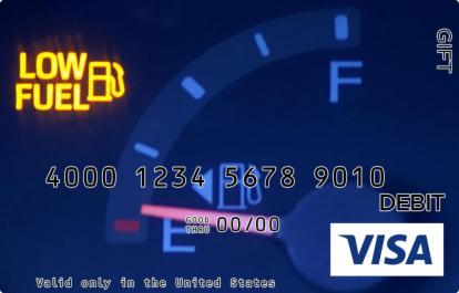 Low Fuel Visa Gift Card