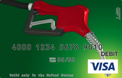 Green Fuel Visa Gift Card