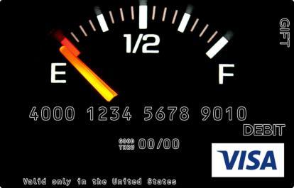 Running on Empty Visa Gift Card