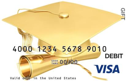Graduation Visa Gift Card