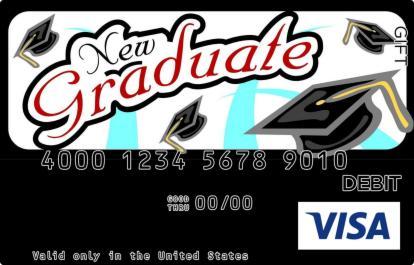 New Graduate Visa Gift Card