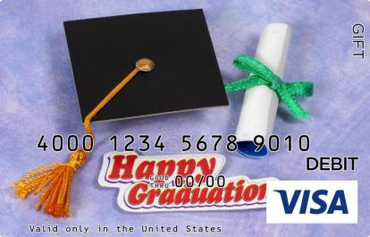 Happy Graduation Visa Gift Card