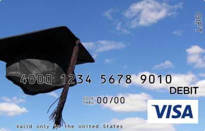 Cap in the Sky Visa Gift Card
