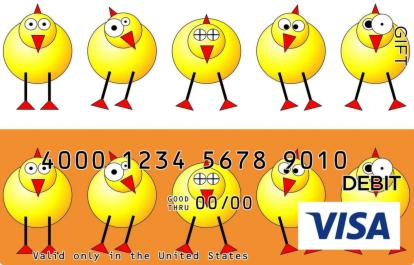 Easter Chicks Visa Gift Card