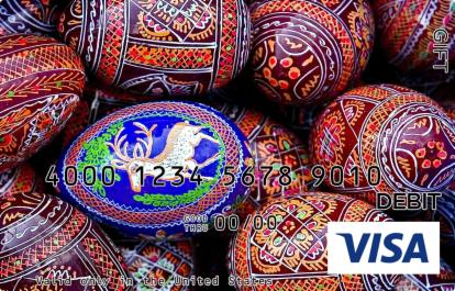Fancy Eggs Visa Gift Card