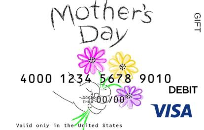 Mother's Day Visa Gift Card