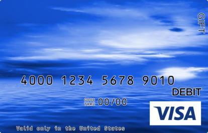 Calm Ocean Visa Gift Card