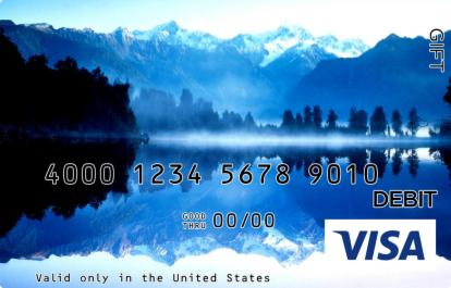 Lake in the Mountains Visa Gift Card