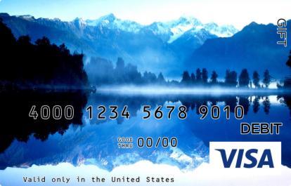 Lake in the Mountains Visa Gift Card