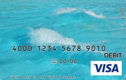Waves Visa Gift Card
