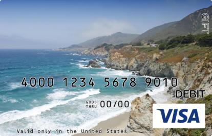 Idyllic Coast Visa Gift Card