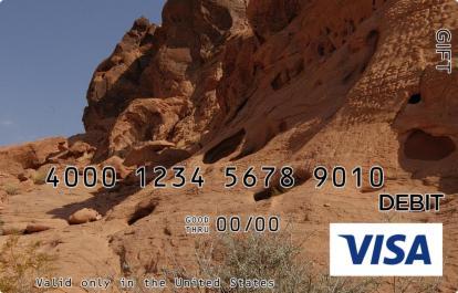 Mountain Holes Visa Gift Card