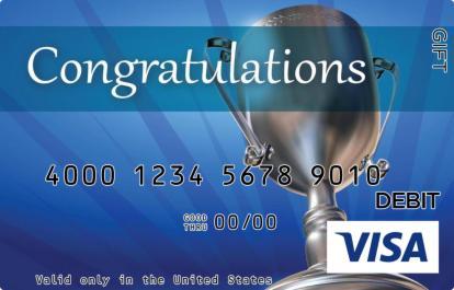 Congratulations Visa Gift Card