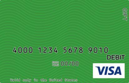 Green Waves Visa Gift Card