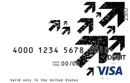 Up Visa Gift Card