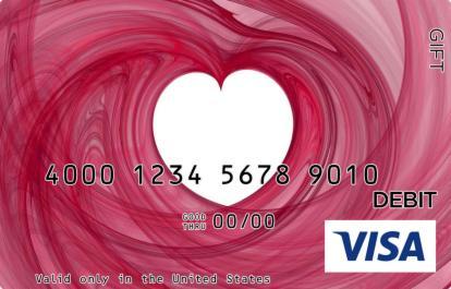 Woven Heart Visa Gift Card