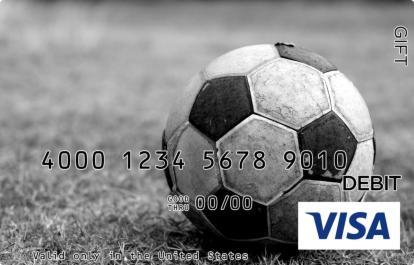 Vintage Soccer Visa Gift Card