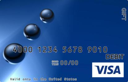 Black Balls Visa Gift Card