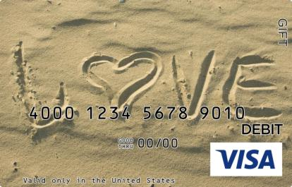 Beachside Love Visa Gift Card