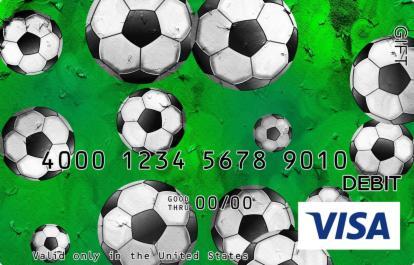 Soccer Visa Gift Card