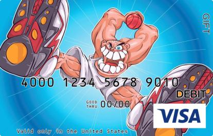 Berserk Basketball Visa Gift Card