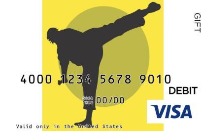 Karate Visa Gift Card