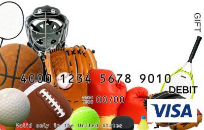 Sports Visa Gift Card